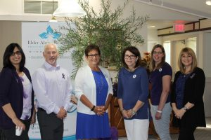 Local Elder Abuse Network: Mehnaz Rafat & Mike O'Connor (Family Services Windsor-Essex – Elder Abuse program), Janice Laforest & Michele Vigneux (Alzheimer Society), Suzanne Poirer (Life after 50), Barb Iacono (FSWE)