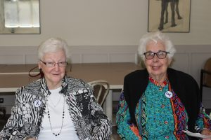 Harrowood Retirement Homes residents attending in the event: Connie Truan and Noreen Myers
