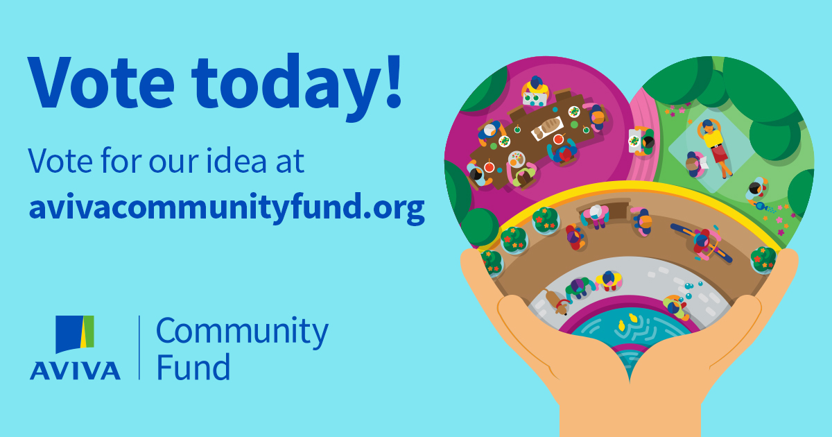AVIVA Community Fund - Vote Today