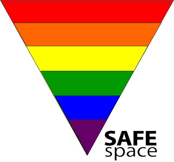 Inclusive-Safespace (inverted rainbow triangle)
