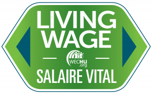 WECHU Living Wage Logo