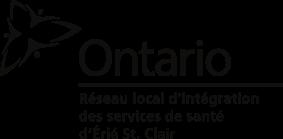 Logo de Réseau local d'intégration des services de santé d'Erie St-Clair