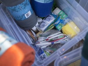 Supplies that will be provided by the Mobile Outreach van