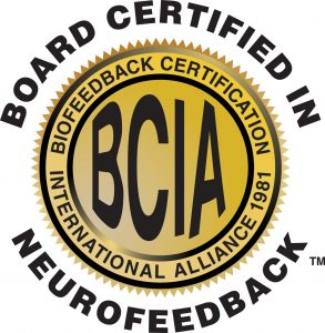BCIA Board Certified In Neurofeedback Seal
