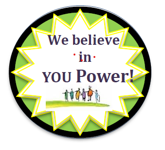 We believe in YOU Power Badge