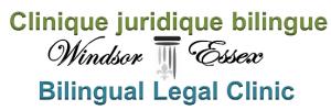 Logo de la Clinique juridique bilingue Windsor-Essex